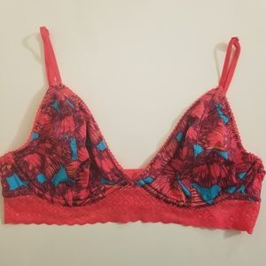 NWOT Free People Angie Butterfly Bra, 34C